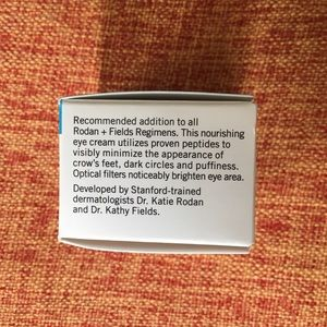 REDEFINE MULTI-FUNCTION EYE CREAM Rodan + Fields NWT